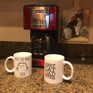 Other - Best Cat Mom/ Dad Ever Coffee Mugs